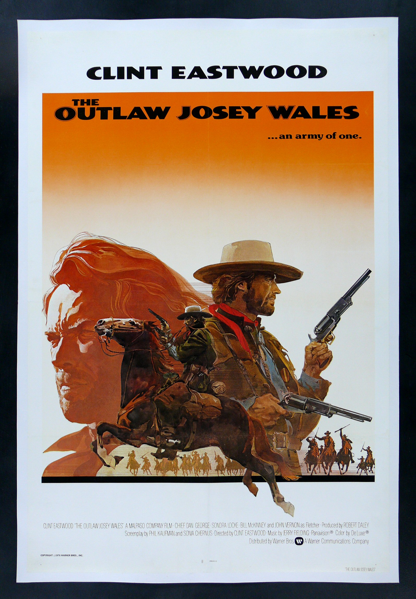 outlaw josey wales cinemasterpieces western cowboy movie