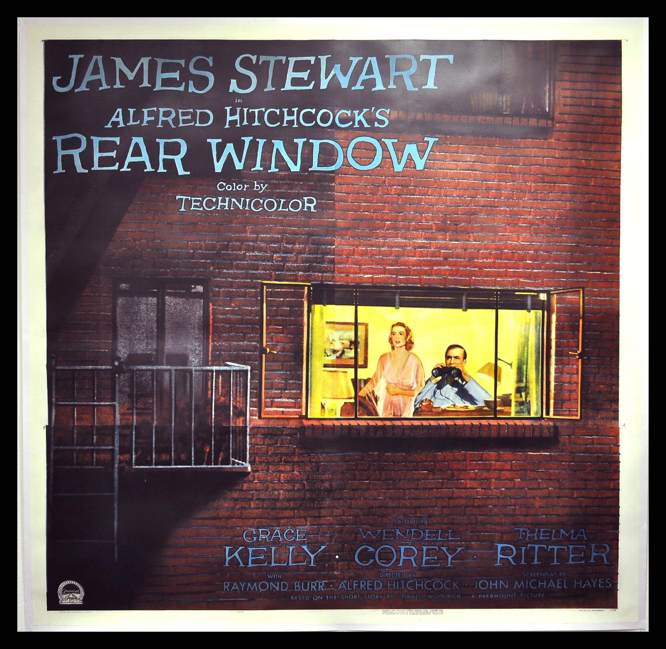 Rear window cinemasterpieces alfred hitchcock original for 1954 rear window