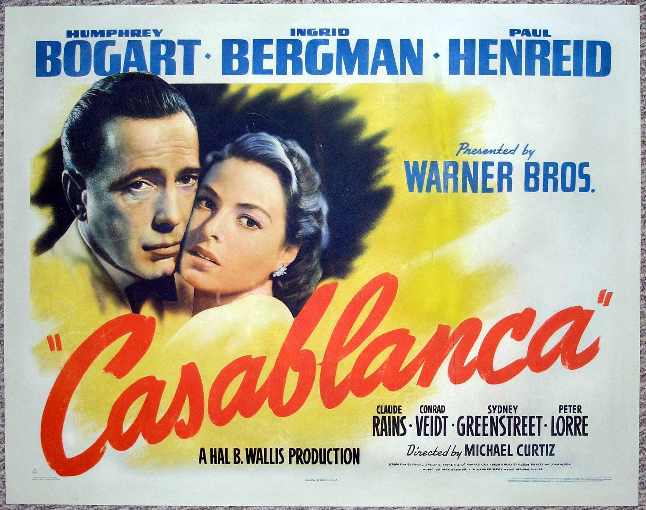 Caddyshack & Casablanca Movie Posters @ CineMasterpieces